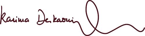 Signature Courbe